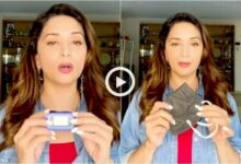 madhuri dixit shares a video on instagram how to take care against COVID-19 at Home