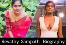 Revathy Sampath Biography(Wiki), Age, Hight, Family, Boyfriend, Movies, Photos And More