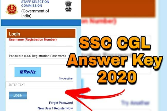 SSC CGL Answer Key 2020 releases for CGL Tier 1 exam, raise objections till 7th September, Exam was held from 13 to 24 August